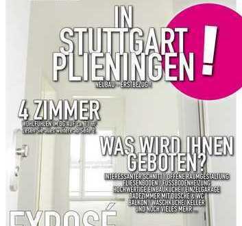 NEUBAU - ERSTBEZUG - In Stuttgart Plieningen mit Balkon!