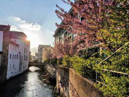 Hafermagazin | Urbanes Wohnen an der Queich: Loft mit Südgarten, Wintergarten, stufenlosem Zugang