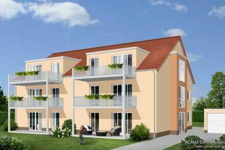 """Zwei 3 Zimmer EG-Eigentumswohnungen, 90 m², in modernem 6-Familienhaus, """"Brunnenfeld III"""".  KfW 55"""