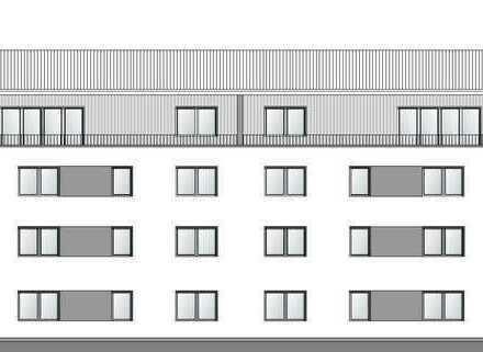 Penthouse mit großer Dachterrasse und Fahrstuhl - Neubau