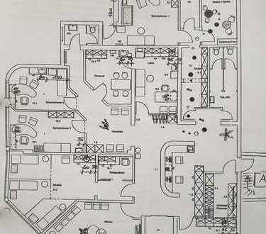 540 m² große Praxis zu vermieten!