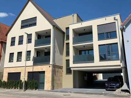 Erstbezug: exklusive 3-Zimmer-Wohnung mit EBK und Balkon in Abstatt