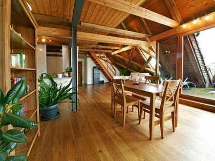 Dachgalerie Wohnung mit Dachterrasse und Stellplatz