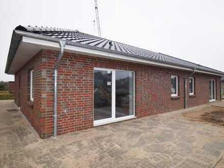 Erstbezug: Seniorengerechte Erdgeschosswohnung mit Carport, Terrasse und kleinem Garten in Fockbek