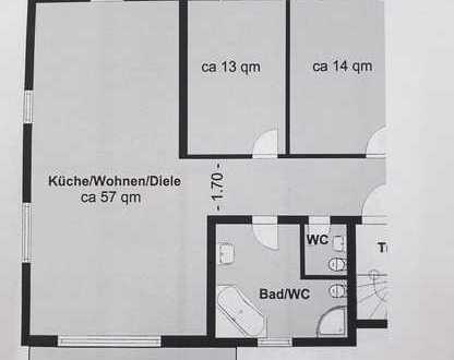 890 €, 100 m², 3 Zimmer