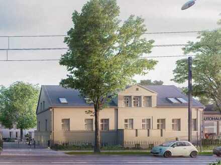 SONNIGES ENSEMBLE-DENKMAL 3 Zi. Wohnung mit Süd-West-Balkon