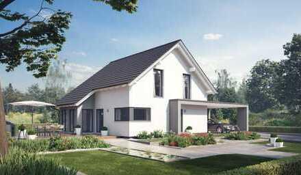 Modernes Einfamilienhaus mit großzügigem Grundstück!