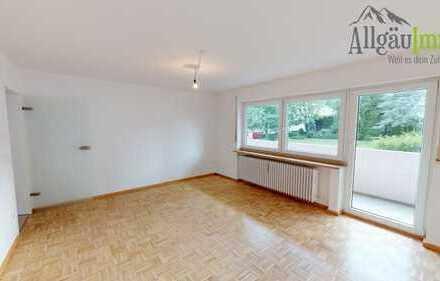Sehr helle 3 Zimmer Wohnung in zentraler Lage in Kempten