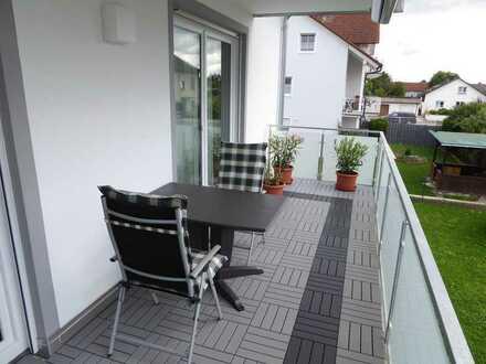 Attraktive 3-Zimmer-Wohnung mit Balkon und EBK in Neuburg an der Donau