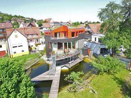 Einzigartiges Architektenhaus mit tollem Grundstück