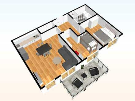 Whg. - 05 - im OG mit 86,55 m²