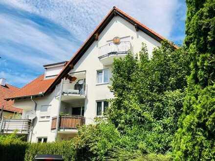Gepflegte 3,5 Zi-Wohnung im schönen Gebersheim inkl. Süd-Balkon