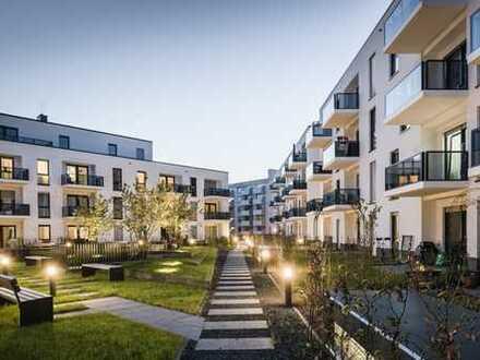 Ruhige 2-Zimmer-Wohnung: Neubau mit sehr guter Verkehrsanbindung