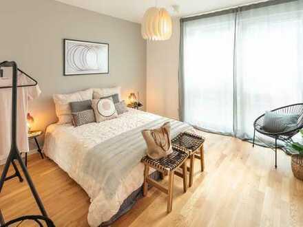 Neues Wohnerlebnis! - Großzügige 3-Zimmer-Wohnung mit EBK, Gäste-WC und Balkon mit bester Sicht