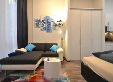 möbliertes Apartment, vollausgestattet - direkt in der Innenstadt, 5 Min zum Hauptbahnhof