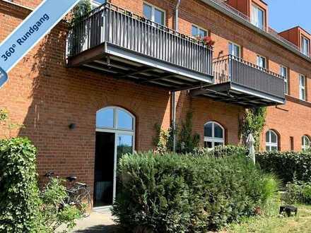 Vermietete 2-Zimmer-Wohnung mit Garten und Stellplatz in Potsdam - Nauener Vorstadt