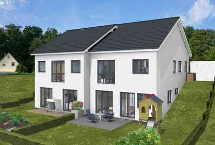Moderne Doppelhaushälfte in zentraler und doch ruhiger Lage! 130 m² mit 30 m² Ausbaureserve!