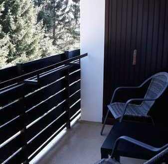 Gepflegte 3-Zi-Wohnung mit Balkon und Einbauküche im Kniebis