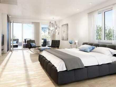 KFW40 Erstbezug: stilvolle 4-Zimmer-DG-Wohnung mit Balkon in Mering
