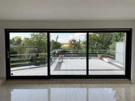 Luxus und Fernblick in 3 Zimmern im Erdgeschoss im Kölner Süden