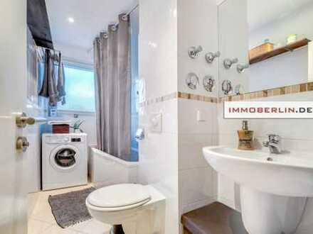 IMMOBERLIN: Sehr adrett in Ruhelage: Vermietete Wohnung mit Westloggia