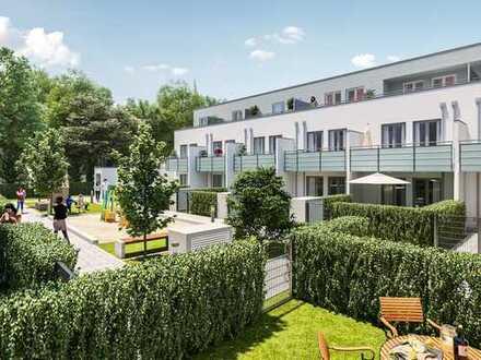 5-Zi.-Familien-Maisonette auf 3 Wohnetagen mit 4 Balkonen und sonniger Gartenterrasse