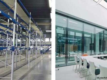 Revitalisierung von geräumiger Hallen- und Bürofläche in begehrtem Gewerbegebiet!
