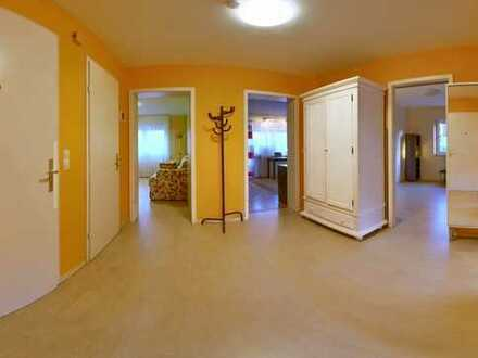 Provisionsfrei: gepflegte 3,5-Zimmer-Hochparterre-Whg in bester Lage, mit Balkon und EBK in Fürth