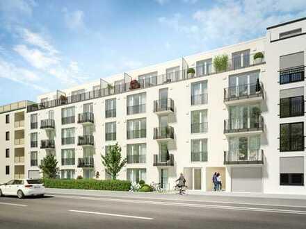Moderne 2-Zi.-Balkonwohnung in wunderbarer Lage zwischen pulsierendem Stadtleben und Naherholung