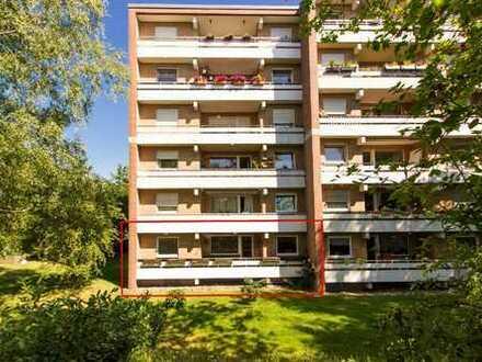 ** Keine Käuferprovision ** Barrierefreie Erdgeschosswohnung in zentrumsnaher Südwohnlage