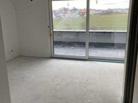 helle 1-Zimmer-Penthouse-Wohnung Erstbezug Neubau, Horb-Hohenberg mit herrlichem Ausblick