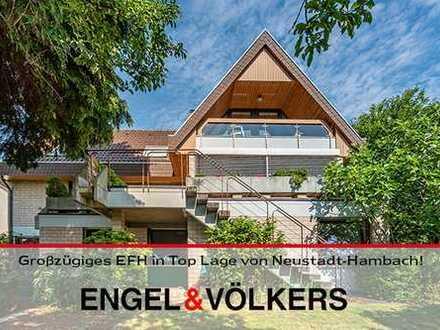 Hambach: Familienhaus mit EBK und tollem Ausblick!