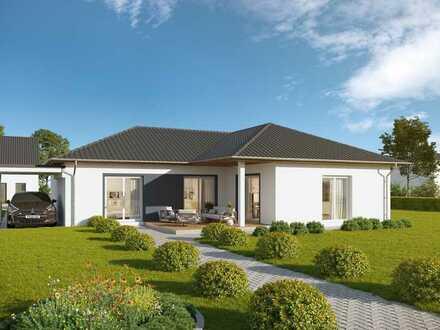 Winkelbungalow mit super Grundriss und hochwertiger Ausstattung inkl. Grundstück