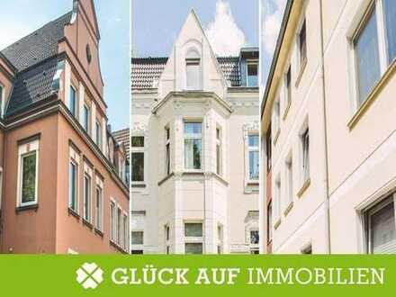 Jugendstil-Mehrfamilienhaus mit großzügigem Garten und 8 Garagen in Duisburg Neudorf-Süd