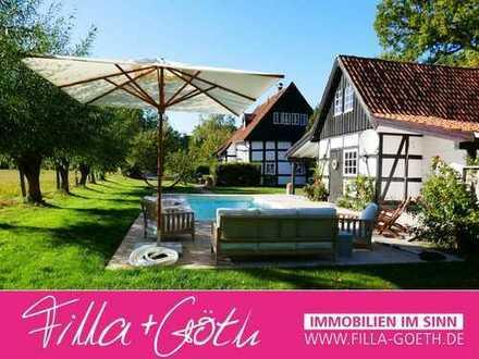 Fachwerk in gehobener Ausstattung und idyllischer Lage in Halle (Westf.)!