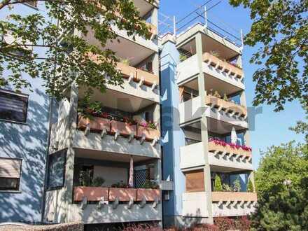 Vermietete, voll sanierte Erdgeschosswohnung in attraktiver Stadtrandlage in Karlsruhe Neureut