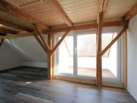 ***Altes Holz trifft Moderne*** Maisonettewohnung zum Erstbezug