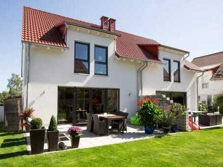 Neubau von einer attraktiven und modernen Doppelhaushälfte mit 150 m² Wfl. inkl. 260 m² Grundstück
