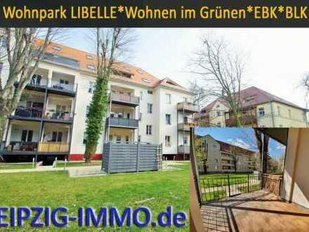 WOHNPARK LIBELLE ***3 Zi. m.Westbalkon * Parkett * Fußbodenheizung * Bad mit Wanne + Dusche...