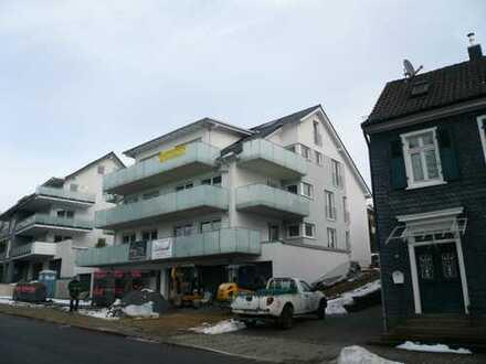 DG-Neubauwohnung (91,36m²) + ausgebauter Spitzboden (ca. 20m² Nutzfläche), 2 Balkone, Aufzug, Garage