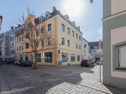 Ladenflächen in Ingolstadts Zentrum