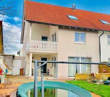 Familienfreundliche Doppelhaushälfte in 89415 Lauingen