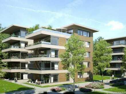 Bad Kreuznach, Salinental, Neubau im Stadtwald, Erstbezug, 3-Zimmer-Wohnung mit Balkon