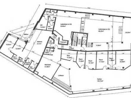 Büro / Praxis / Physio / Ärztehaus 300-1.500 qm derzeit Rohbau