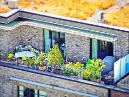Penthouse Wohnung mit Panorama Blick und Süd-West Loggia