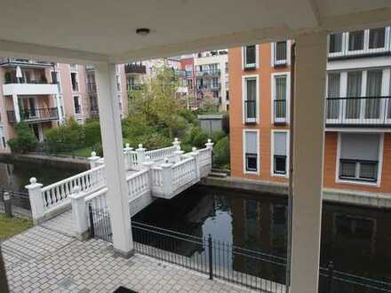 * Pasing - mediterranes Feeling direkt im Stadtpark am Würmkanal - Ruhige 4 Zi Wohnung mit Balkon *