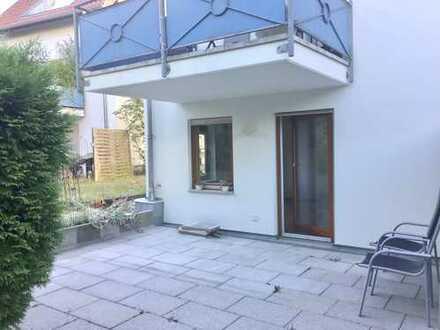 Frisch renovierte 3-Zimmer-Wohnung mit Garten im Zentrum von Hochdorf