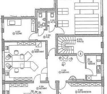 Ehemalige Notariatsräumlichkeiten im Zentrum von Abtsgmünd