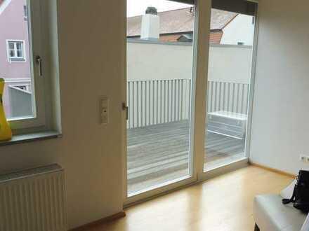 Tolle-2-Zimmer-Neubau-Komfort-Wohnung mit Donaublick