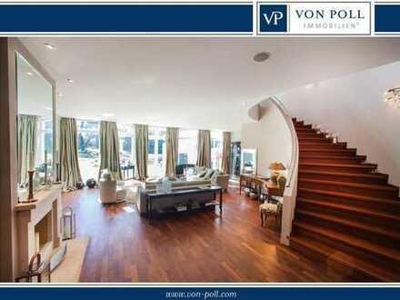 Frankfurtnah - flexible Villa mit Park in Bestlage